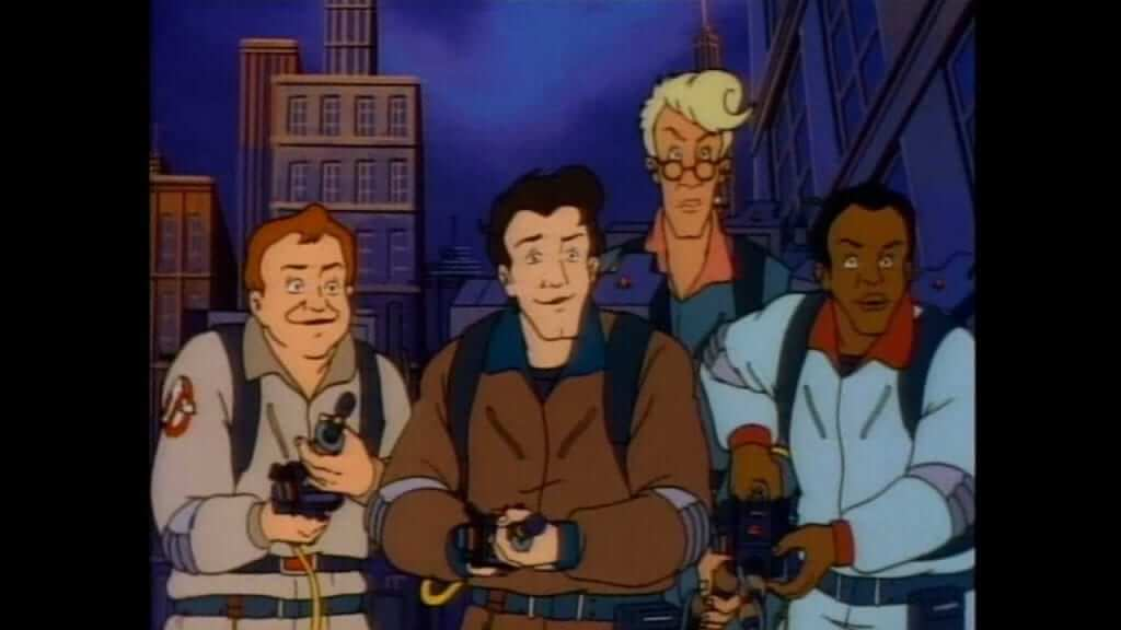 Ghostbusters animated film