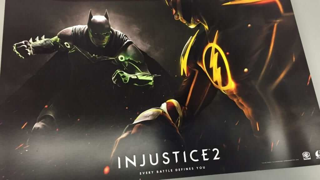 Leaked Injustice 2 Poster -
