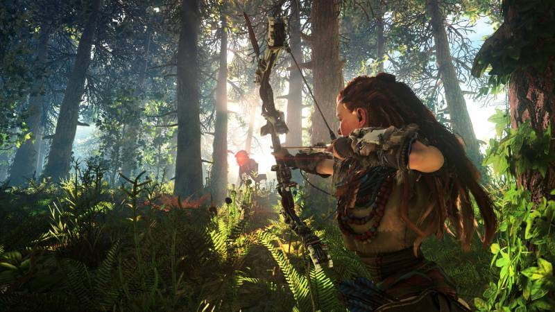 E3 2016 teased us with more Horizon Zero Dawn gameplay.