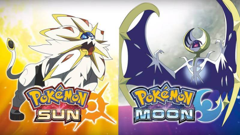 The new legendaries in Pokemon Sun and Moon.