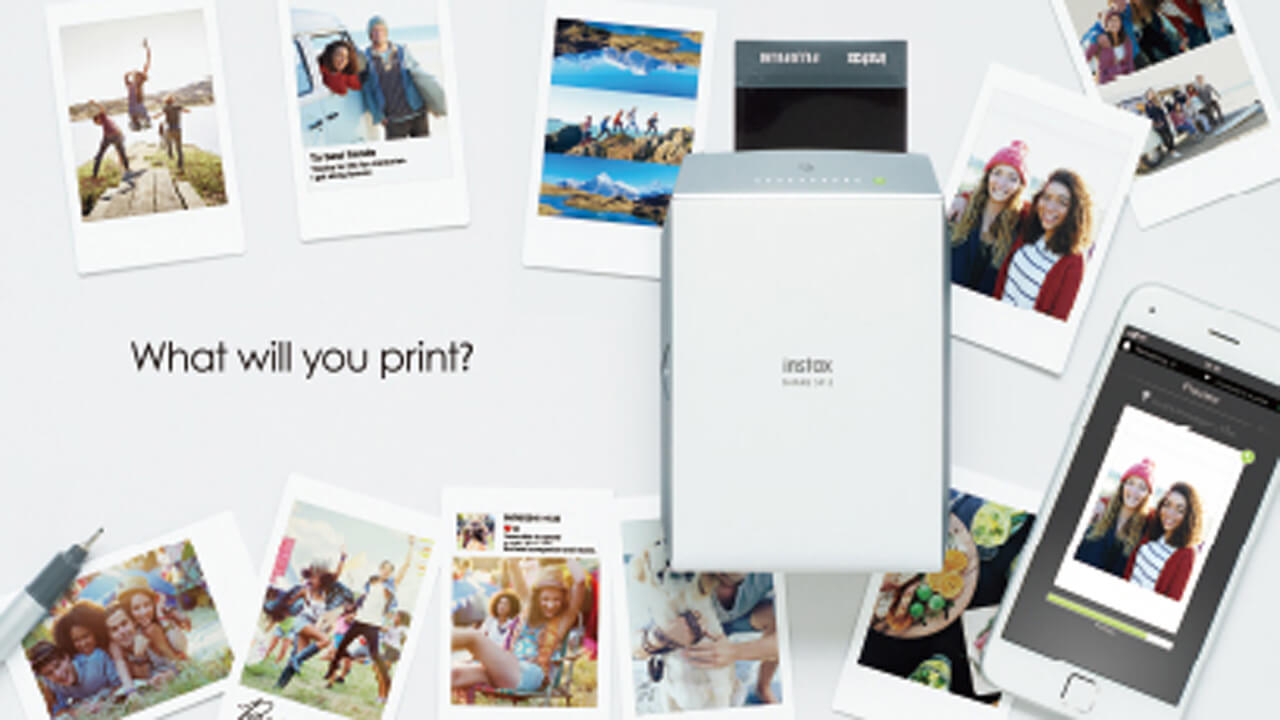 Fujifilm Share Prints Instantly From Smartphone