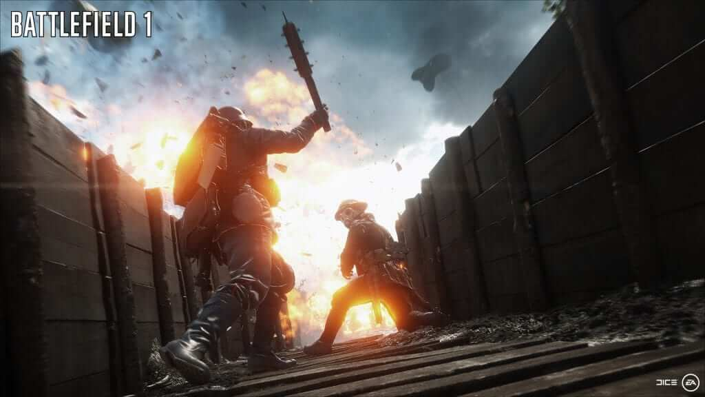 Battlefield 1: E3 Trailer Showcases Big Vehicles