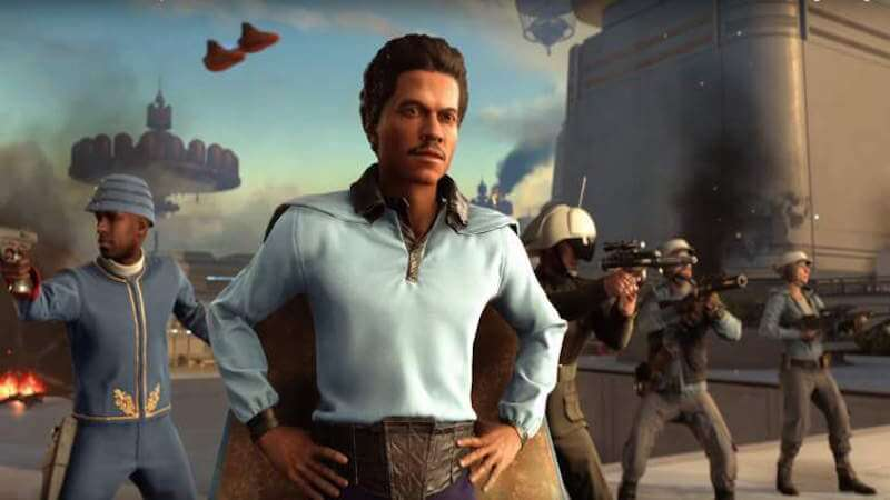 Lando is a new playable Hero in the Bespin DLC