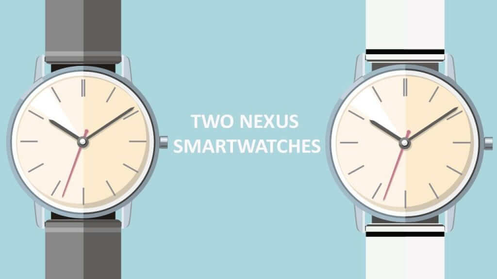 First Look At Google's Smartwatches