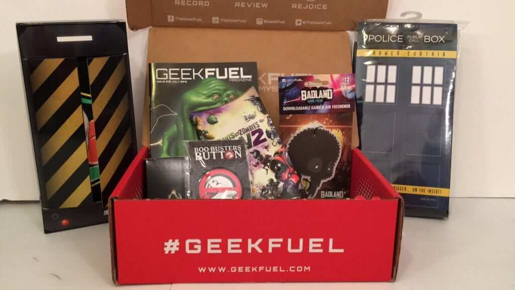 Geek Fuel:  July 2016 Review - Ghostbusters, Doctor Who and Alien