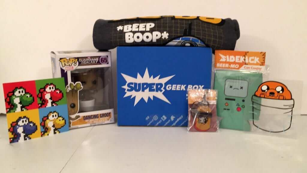 Super Geek Box:  July 2016 Review - Sidekick