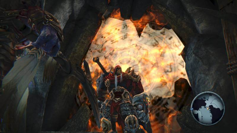 Return to the apocalypse in Darksiders Warmastered Edition.