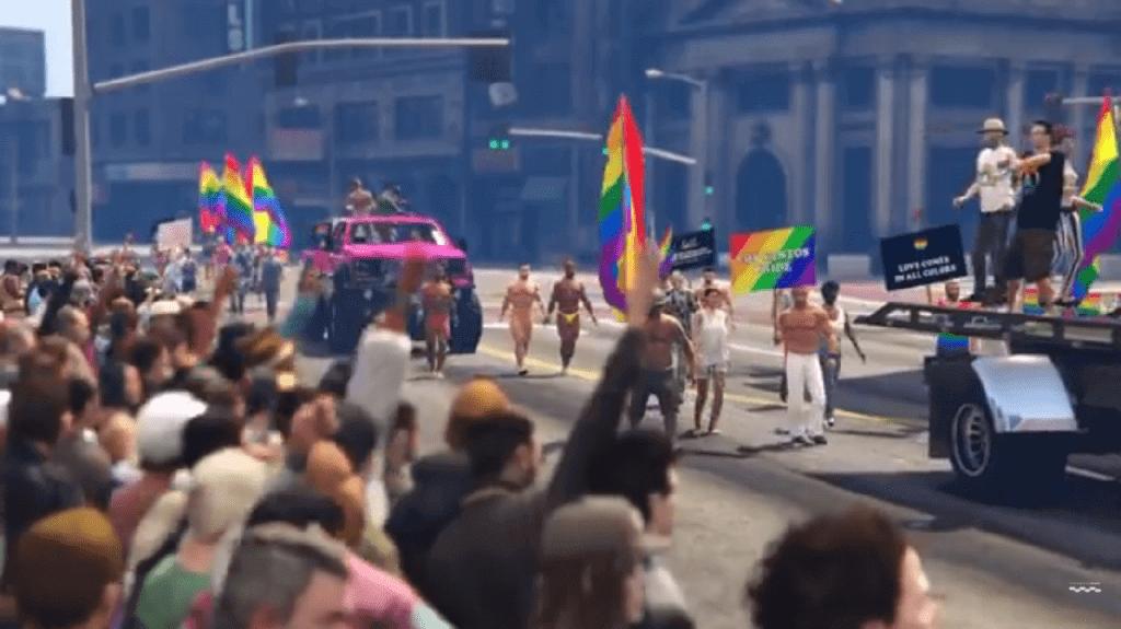 GTA V Mod Creates Parade To Honor Orlando Victims