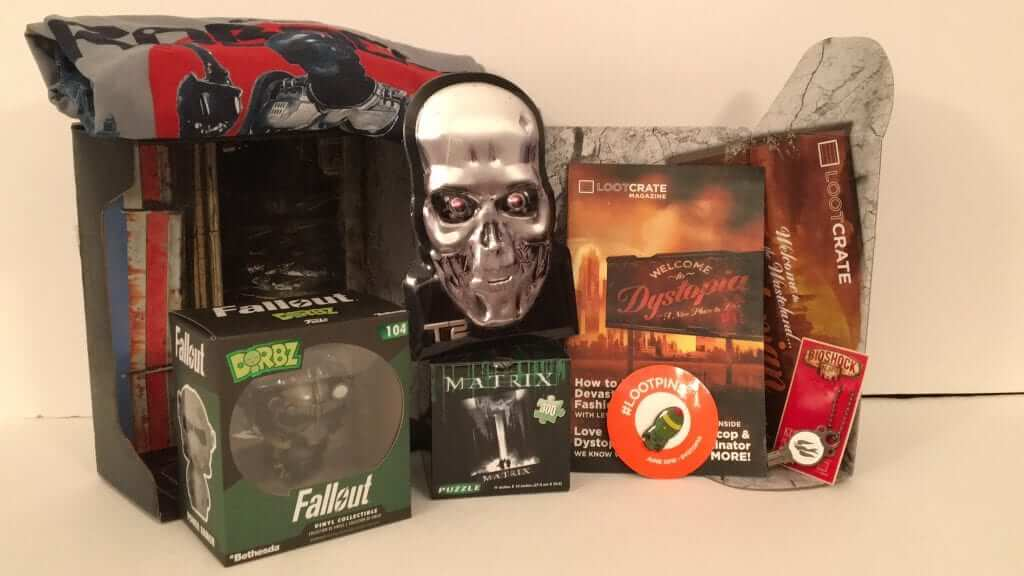 Loot Crate: June 2016 Review - Dystopia