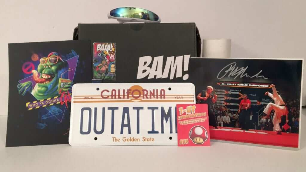The Bam! Box Brings Me Back to the 80's - June 2016 Review