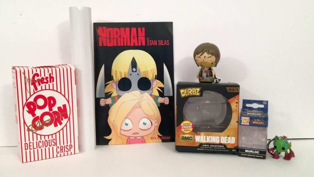 Box of Dread Review:  Daryl Dixon, Monsterland and More!