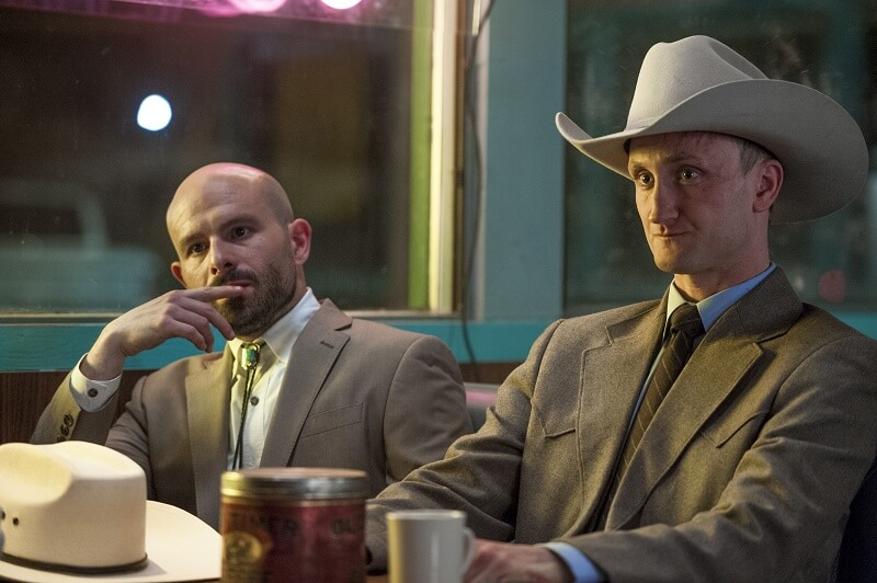 deBlanc and Fiore in Preacher