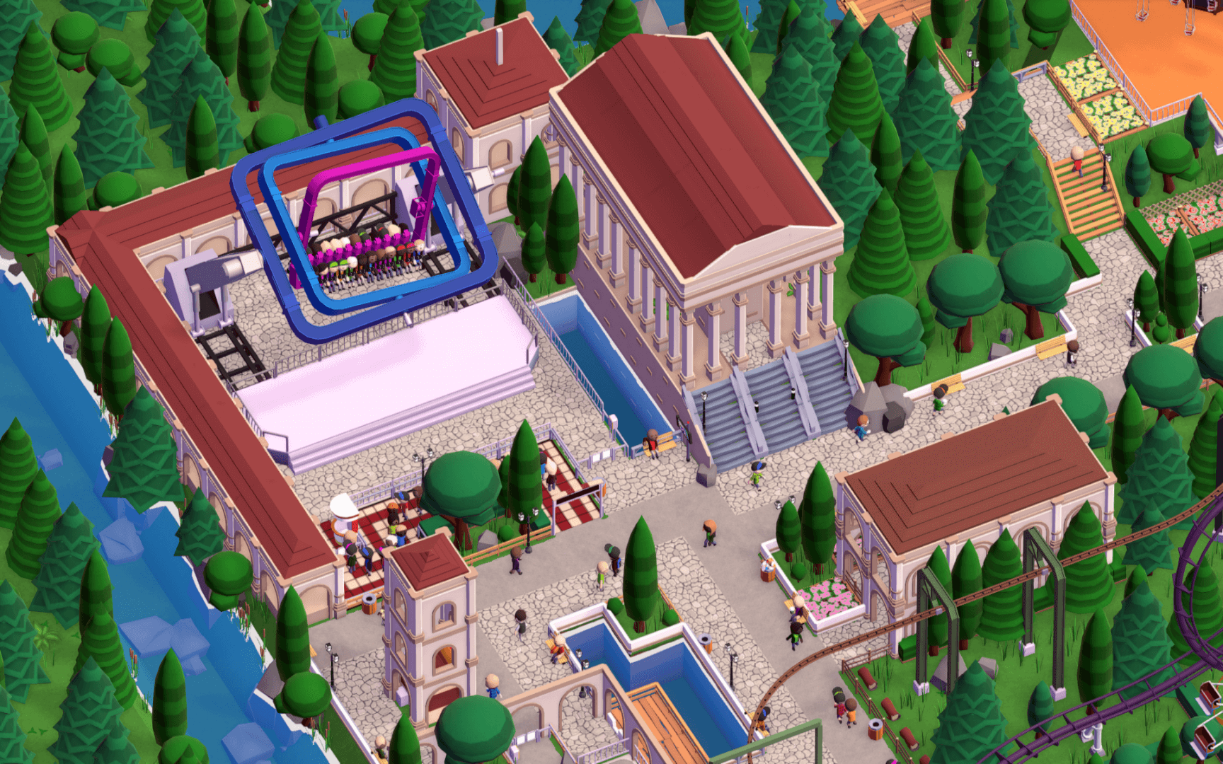 Yup. That's Parkitect.