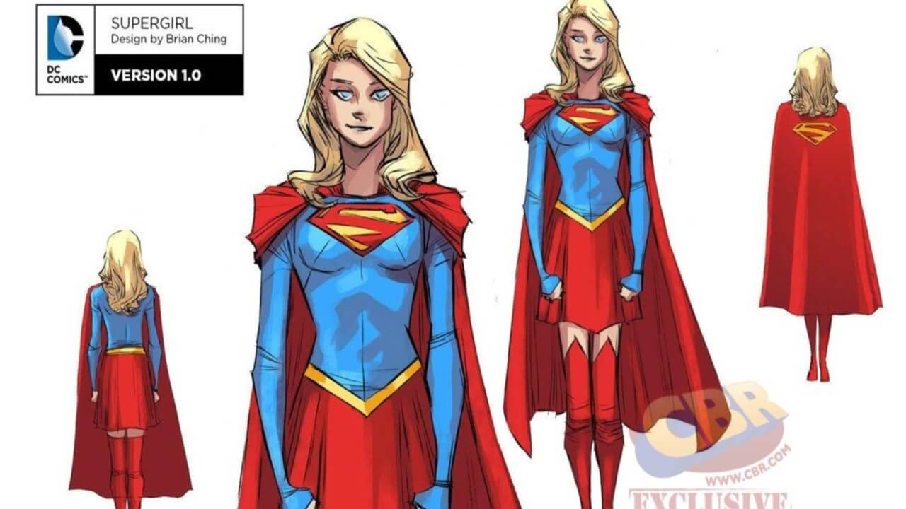 Supergirl Rebirth Preview