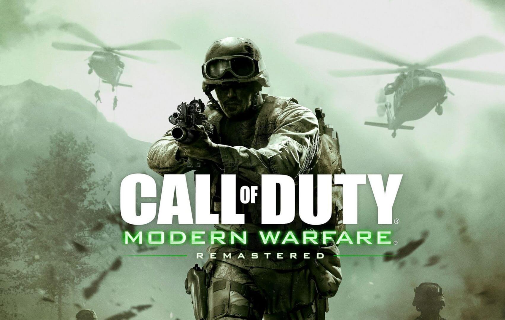 Call of Duty: Modern Warfare Remastered New Trailer