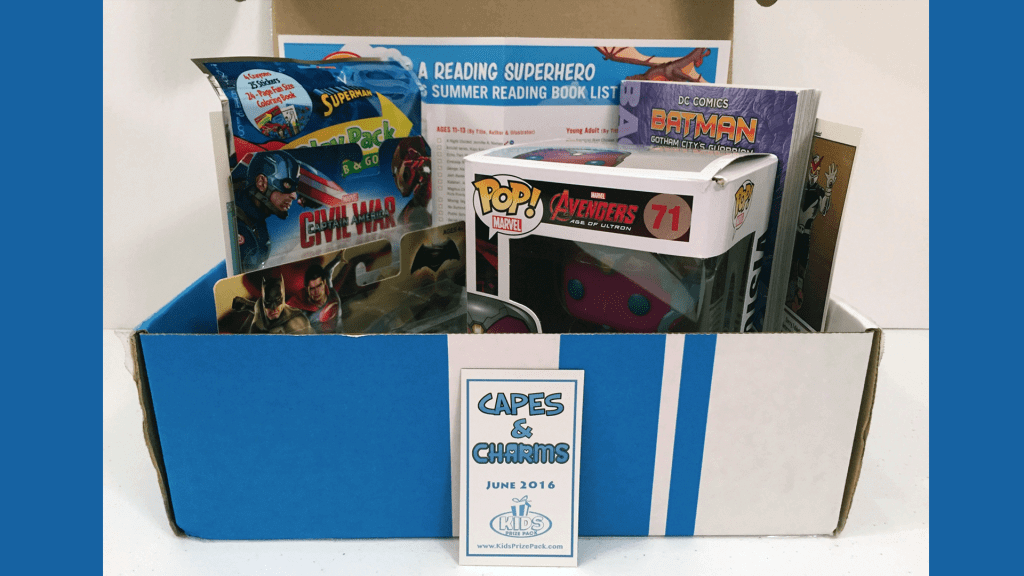 Kid's Prize Pack: June 2016 Review - Capes and Charms