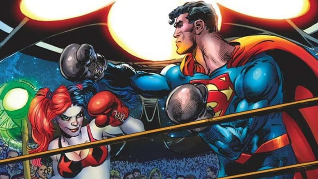 Harley Quinn Steps Into The Ring With Superman?