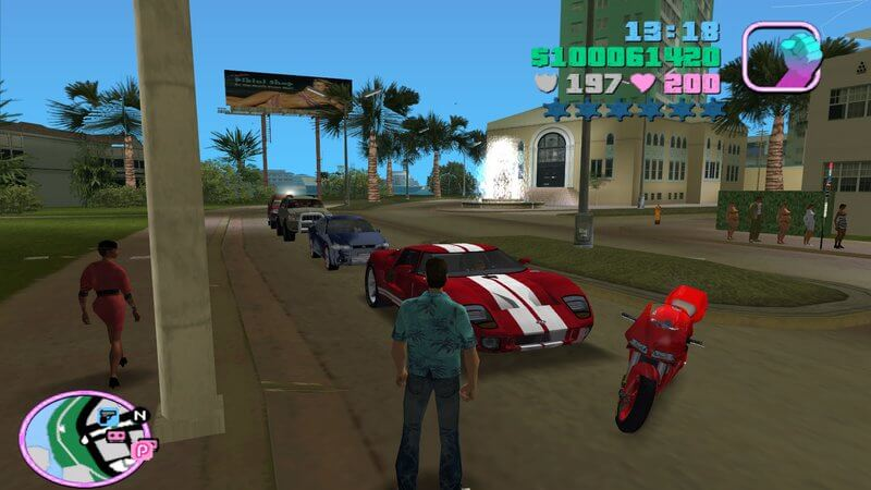 Or go back to Vice City in the GTA PS VIta Collection.