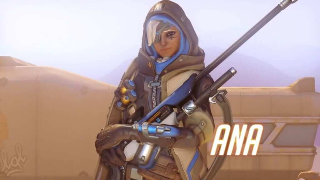 Overwatch Patch to Improve Ana and McCree