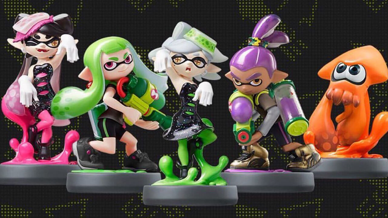 Splatoon Amiibo Wave Two Now Available