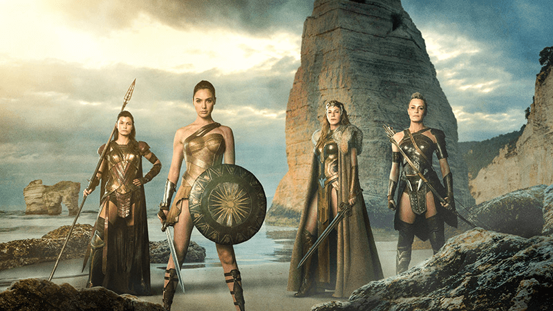 The trailer shows off glimpses of Amazon, Diana Prince AKA Wonder Woman's home.