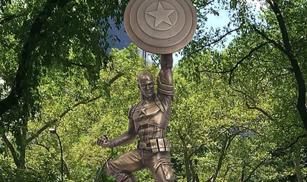 Captain America Statue Coming to Comic-Con
