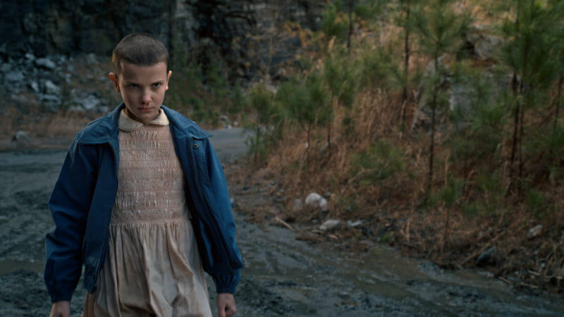 Millie Bobbie Brown as Eleven is one of the best things about Stranger Things.