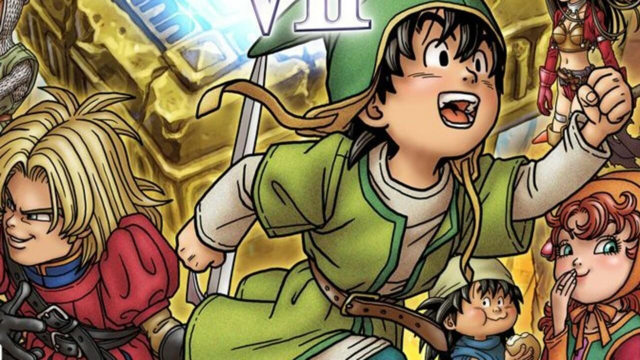Dragon Quest VII Shows Off Its Classes