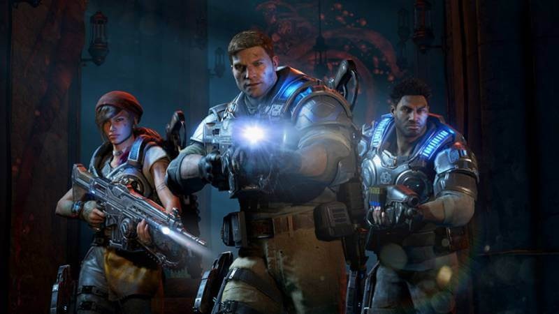 A new generation takes the helm in Gears of War 4.