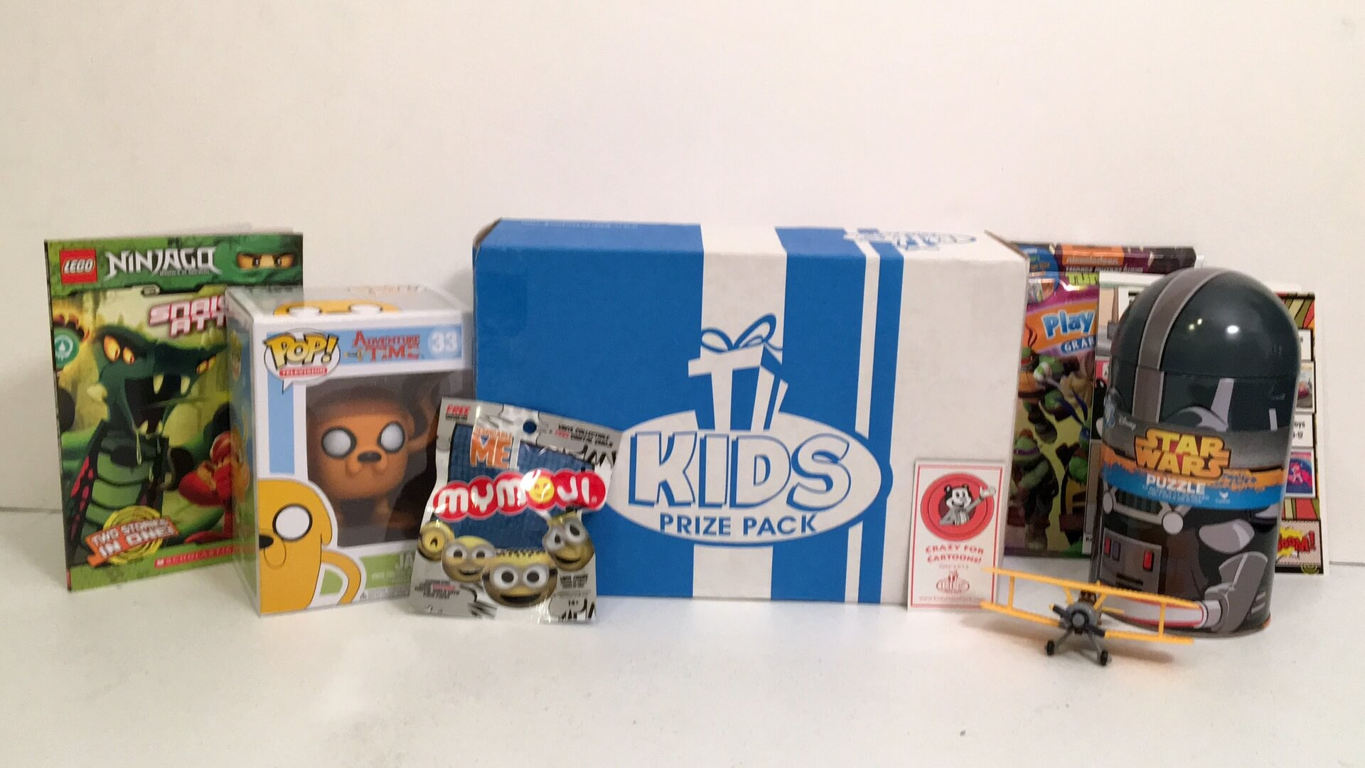Kids Prize Pack:  July 2016 Review - Crazy for Cartoons