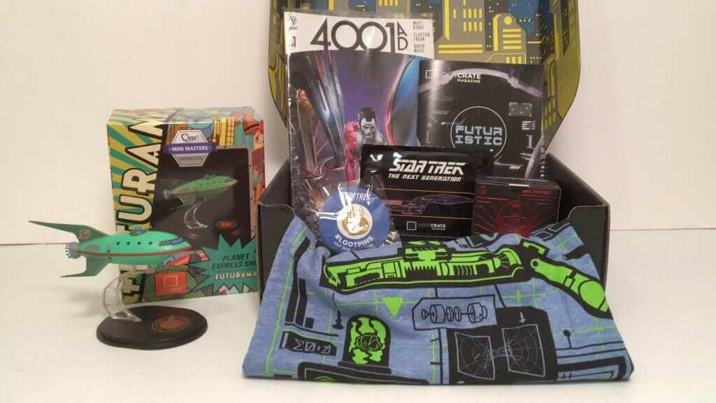 Loot Crate Looks Forward with a Futuristic Theme in July