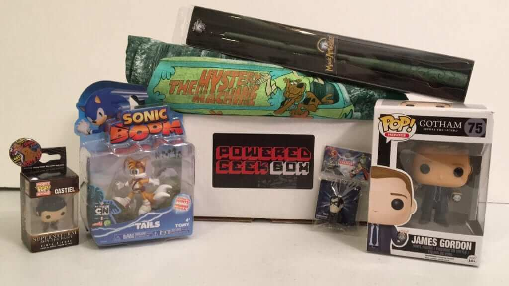 Powered Geek Box:  Scooby Doo, Gotham, DC Comics and More!
