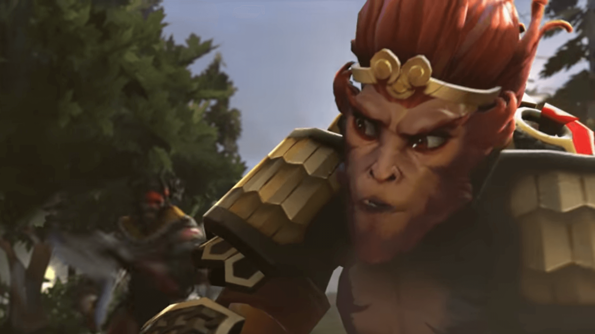 The Monkey King is coming.
