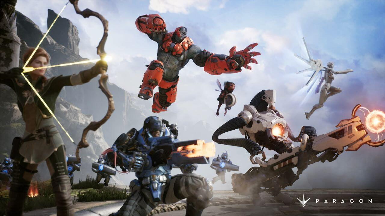 Paragon Enters Open Beta For PS4 and PC