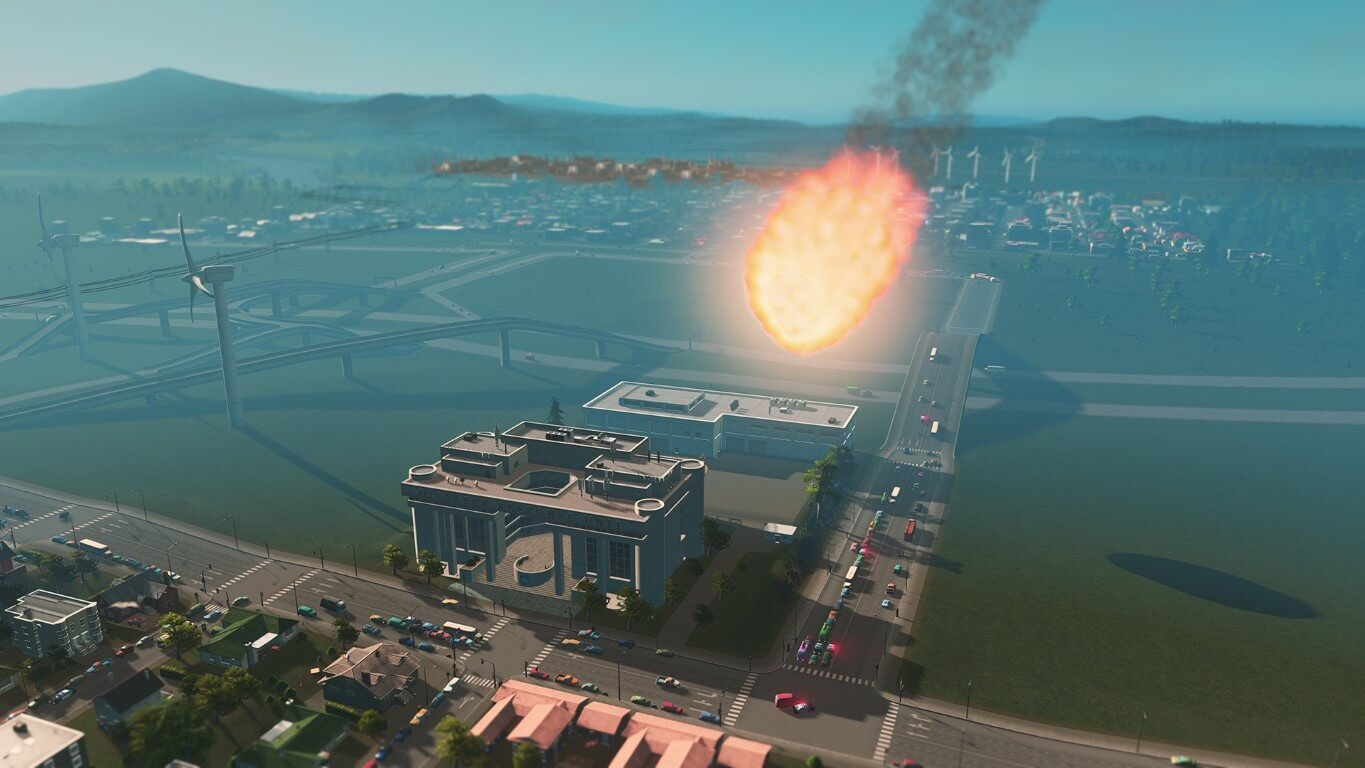 Cities: Skylines Natural Disasters Announced