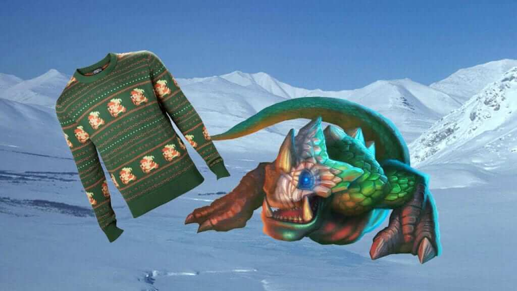 Even Dodongo likes these jumpers.