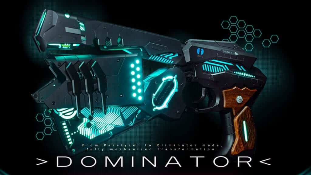 This Psycho Pass Dominator Replica is Fully Functional