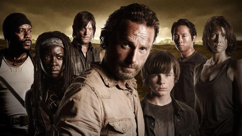 The Walking Dead is one of ABC's most popular shows, also available on Netflix.