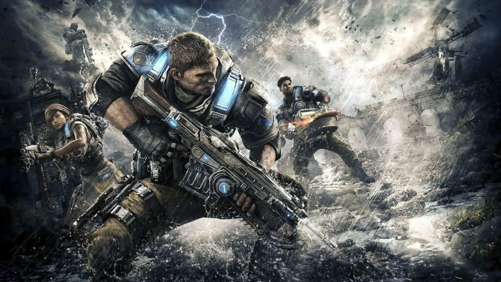 Gears of War 4 Balanced for Controller First
