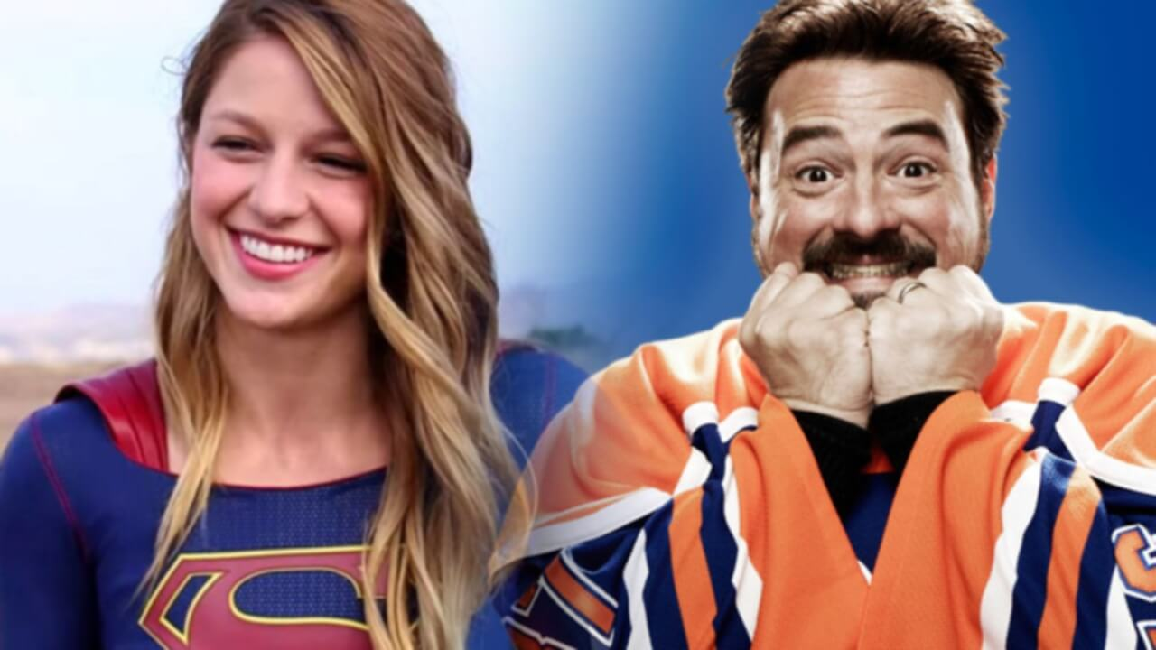 Kevin Smith Directing An Episode of Supergirl