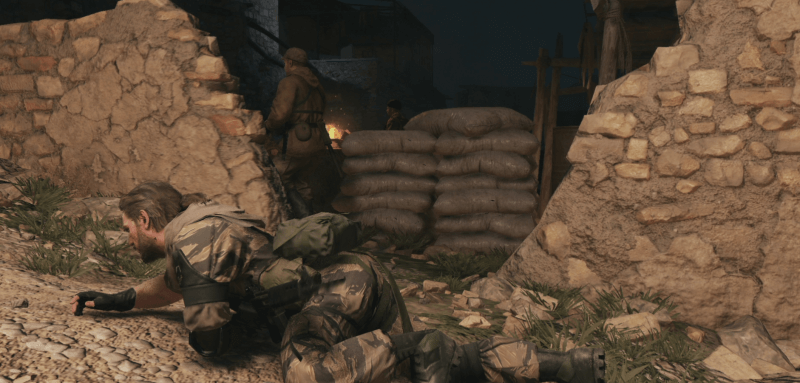 Tactical stealth in Metal Gear Solid V