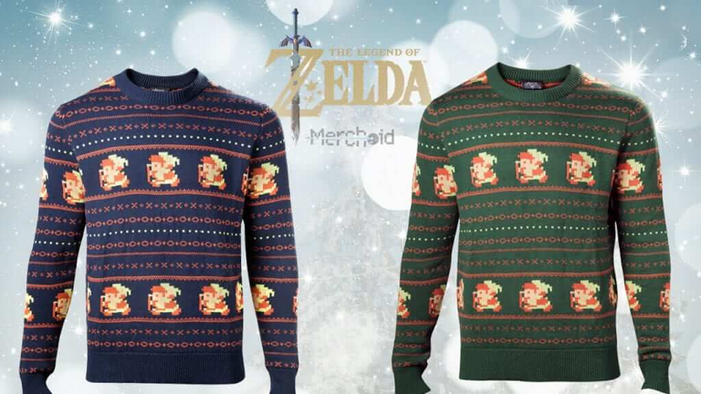 Zelda Christmas Sweaters Work Better Than A Tunic