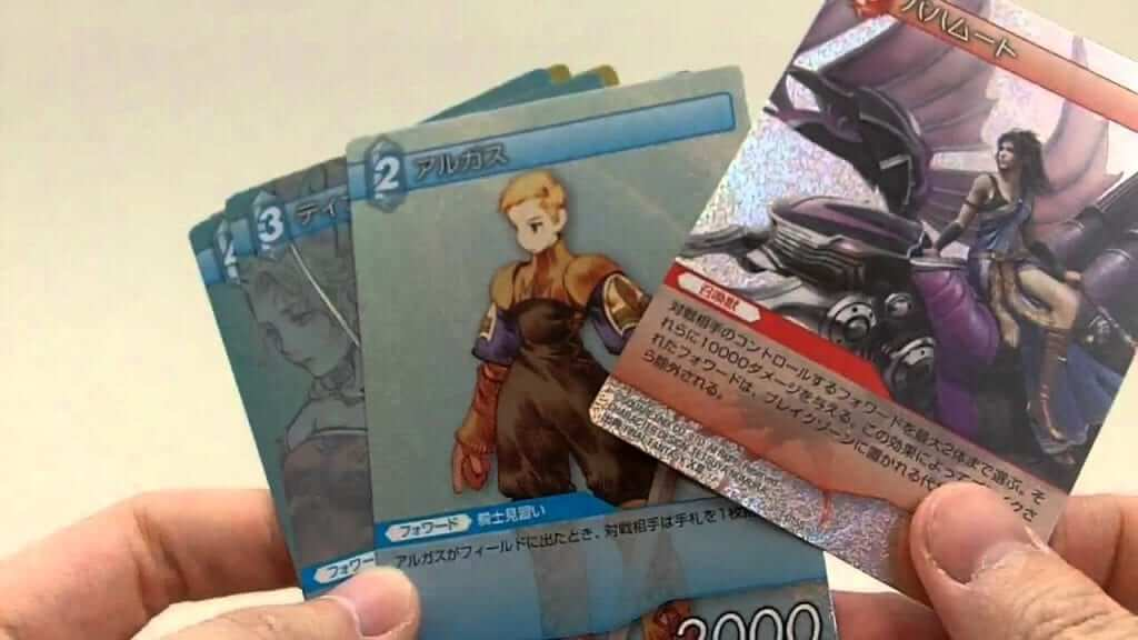 Final Fantasy Card Game Coming to America