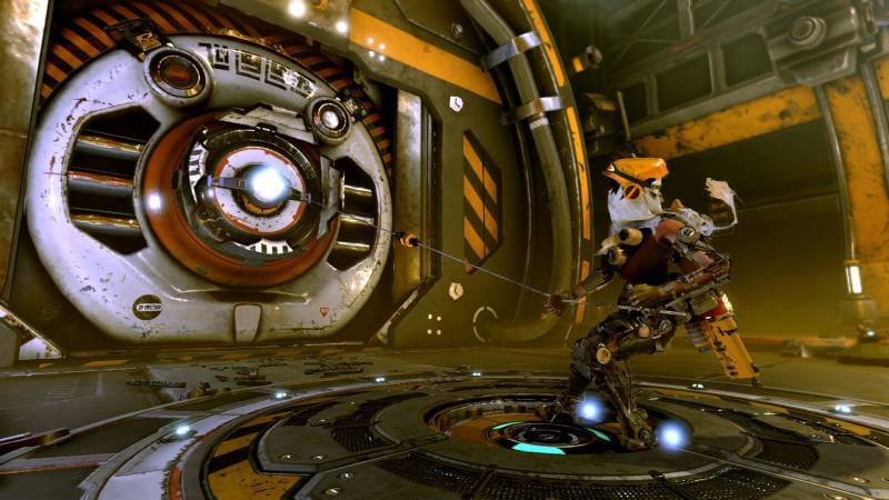 ReCore has a remarkably beautiful world.