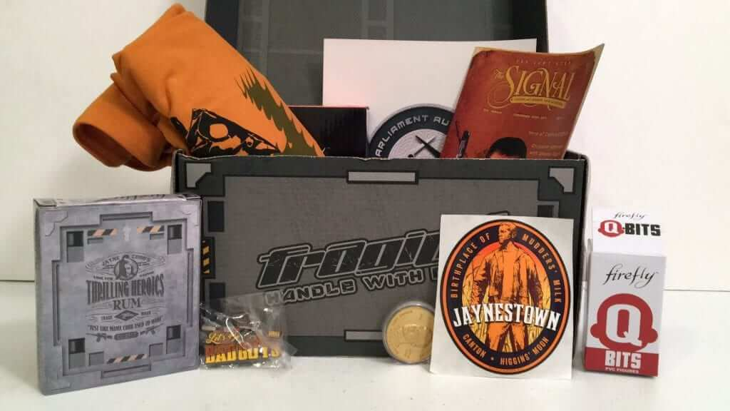Firefly Cargo Crate Honors Jayne Cobb:  Review