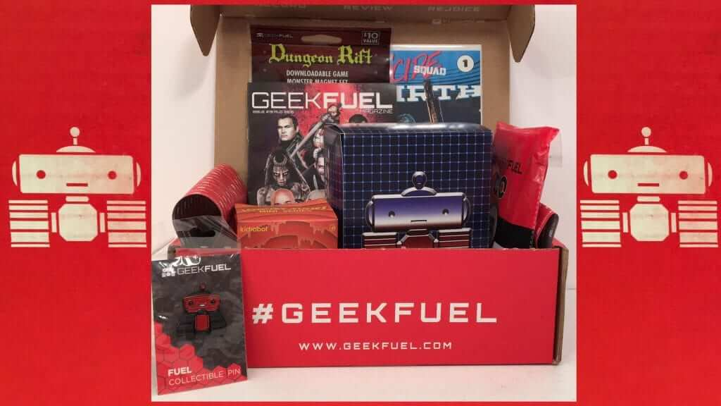 Geek Fuel:  Transformers, Dungeon Rift, & More - Review