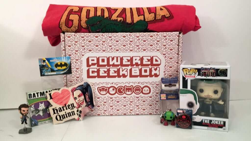 Powered Geek Box August 2016 Review
