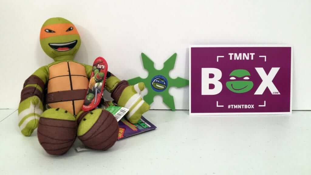 TMNT Box: Your Monthly Teenage Mutant Turtle Fix!
