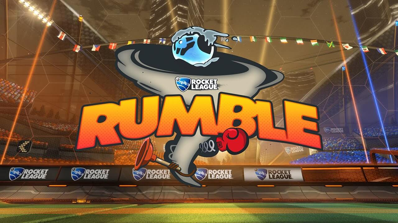 Rocket League Update Introduces Rumble Mode Today