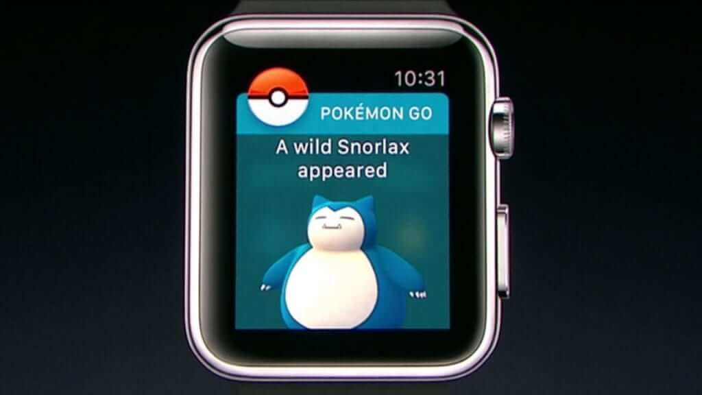 Pokemon Go To Expand To Apple Watch